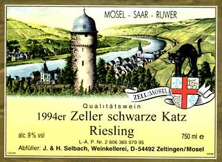 1994 - Zeller Schwarze Katz (Mosel)