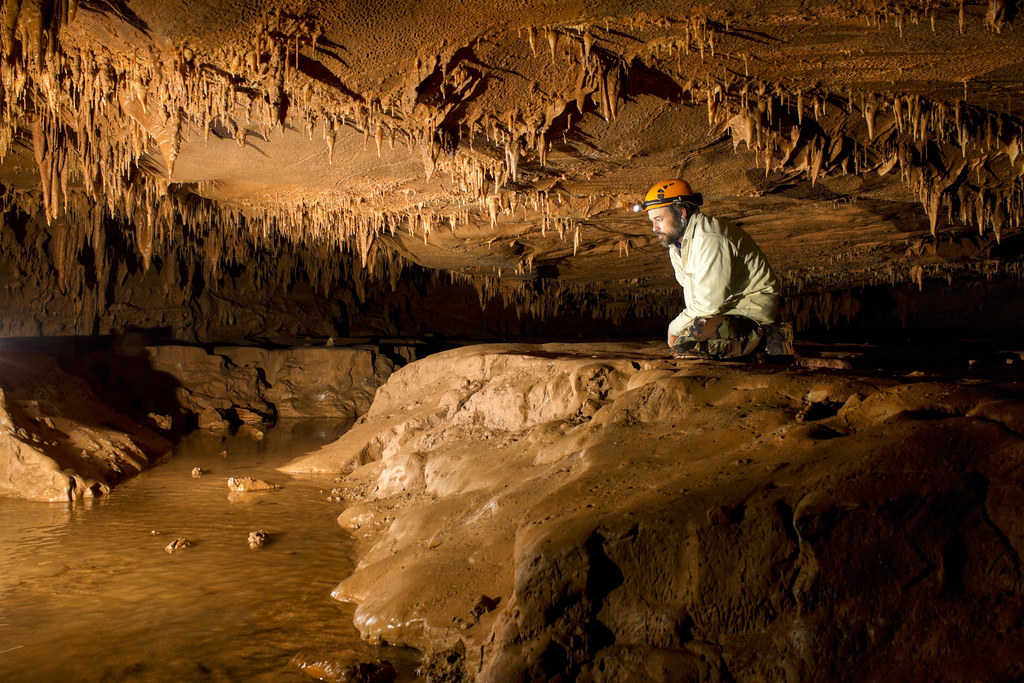 Dave Pelren 2, Jarrells Cave, Coffee Co, TN