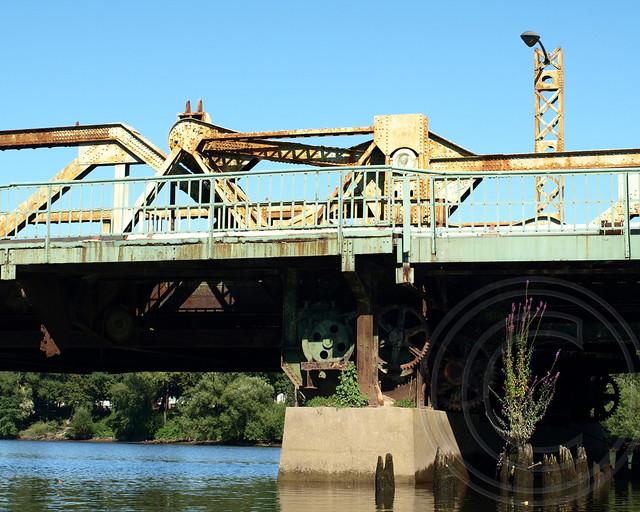 Eighth Street Bridge over the Passaic River, New Jersey