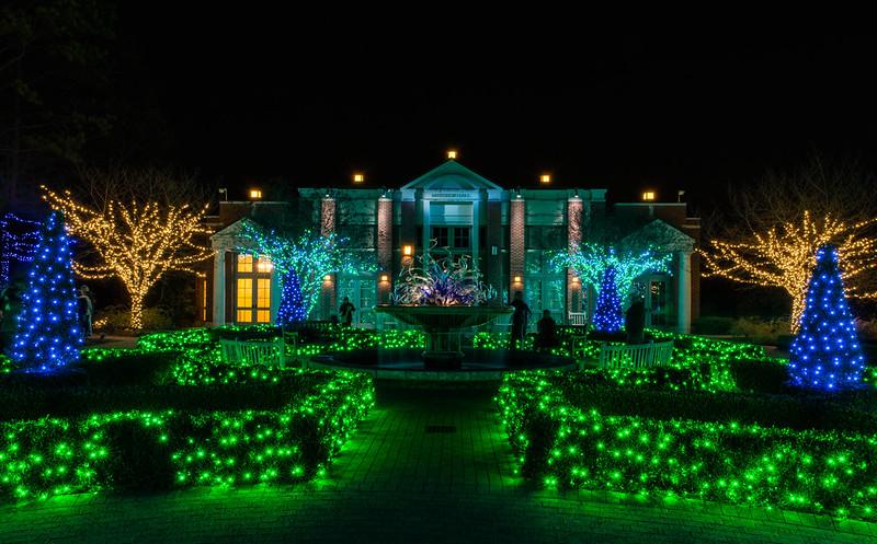 Garden Lights, Atlanta Botanical Gardens, Atlanta USA