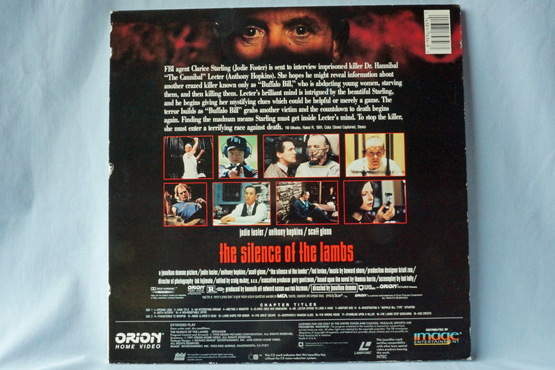 DSC02054 The Silence of the Lambs Laser Disc