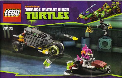 "LEGO Teenage Mutant Ninja Turtles :: ""Stealth Shell in Pursuit"" ; manual i (( 2013 )) | by tOkKa"