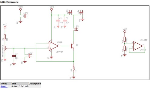Lens Current Driver Schematic   by nebarnix