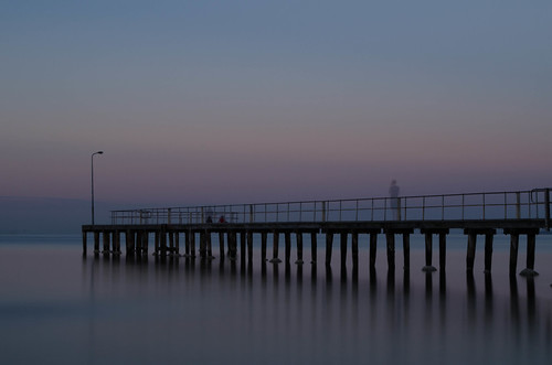 longexposure morning summer sunrise dawn pier jetty melbourne 365 stkilda portphillipbay ndfilter nd400 nikon1855mm 365project nikond7000 brooksjetty morningofaveryhotday