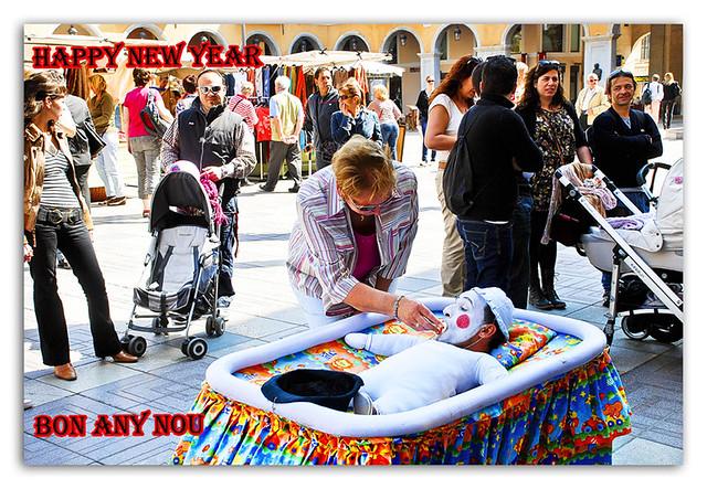 BON ANY NOU - FELIZ AÑO NUEVO - HAPPY NEW YEAR