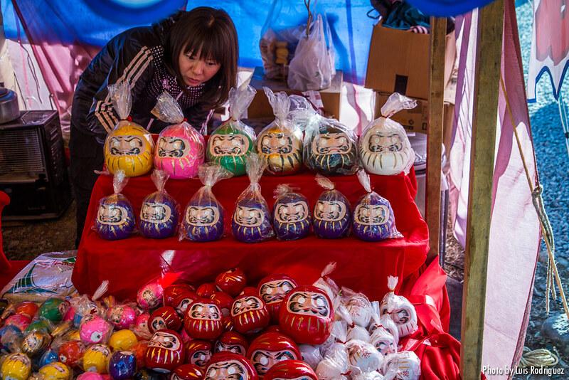 Festival del daruma en Takasaki