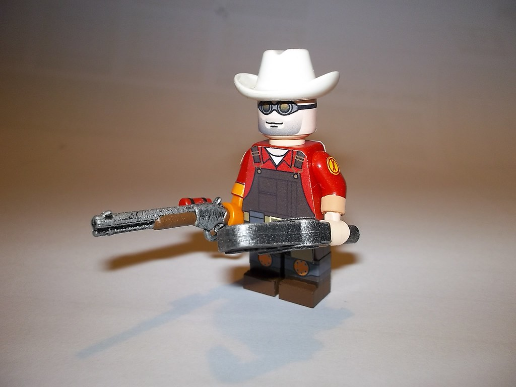 TF2 Team Fortress 2 Lego Engineer view 1 | The Engineer, spo