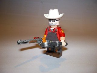 TF2 Team Fortress 2 Lego Engineer view 1 | The Engineer, spo… | Flickr