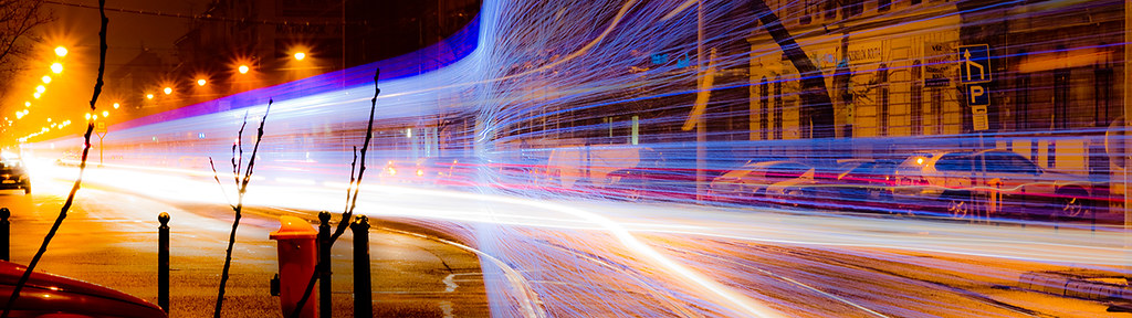 Tram of light