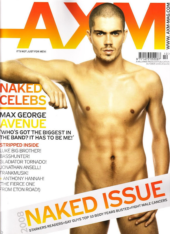 Max George from The Wanted @ AXM 2008 NAKED ISSUE 1 | Flickr