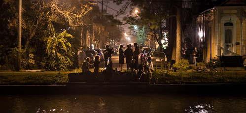 Revelers on the bayou | by Kevin L O'Mara