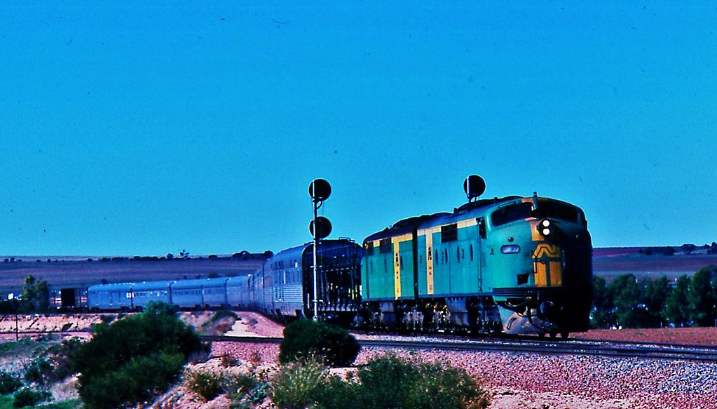 The Sydney to Perth  Indian Pacific by Rodney S300