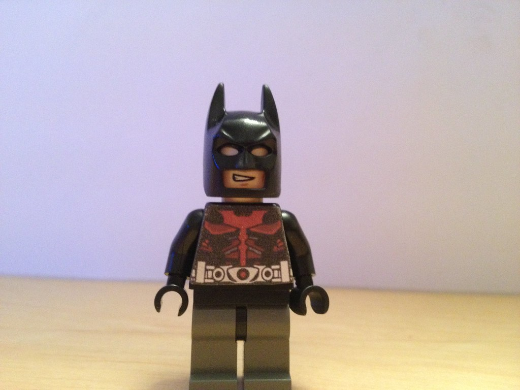 Batman beyond minifig by perfectpictures2011 batman beyond minifig by perfectpictures2011