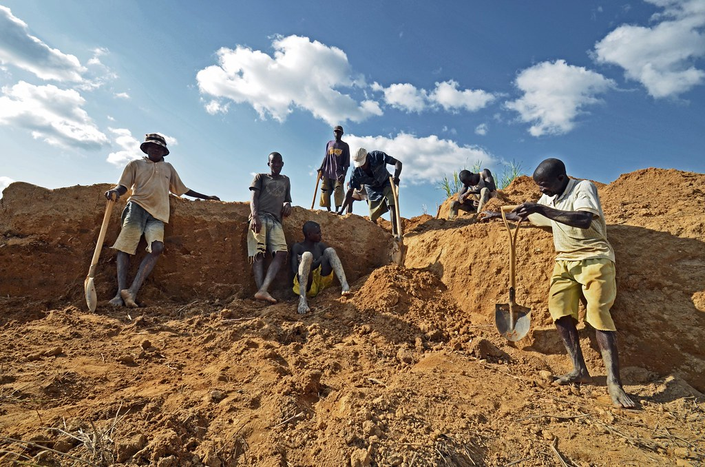 "Former ""Blood Diamonds"" now Provide Employment. Credit: Tommy Trenchard/IPS"