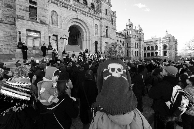 Will Pacifism be the Death of the Idle No More movement?