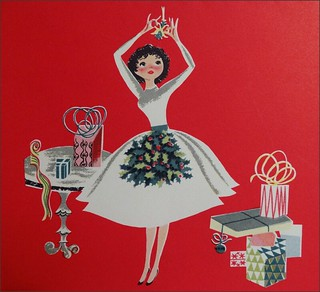 1950s Christmas Card Hallmark | by 1950sUnlimited