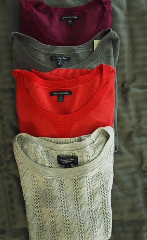 AEO Sweater Haul