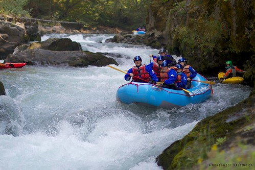 Raft in Triple Drop | by Northwest Rafting Company