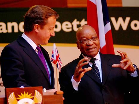 President Jacob Zuma hosts Prime Minister of the United Kingdom, 18 Jul 2011