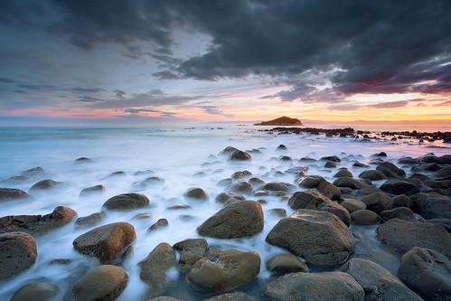 longexposure sunset newzealand colour geotagged rocks waves boulders wash le nz gisborne eastcoast spongebay almostgotwet 5d3 5dmarkiii geo:lat=38700030200168705 geo:lon=17805704534053802