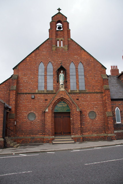 Facade - St. Patricks R.C. Church, Thornaby