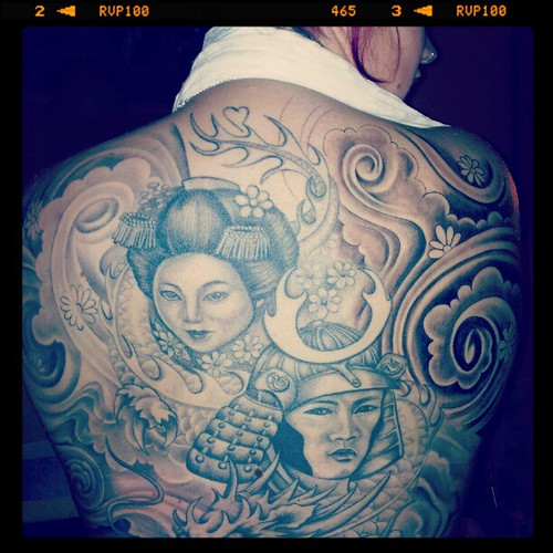 Daughter's back #tattoo | by Watty rugby