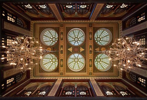 Pera Palace Hotel, Jumeirah - Kubbeli Ceilings