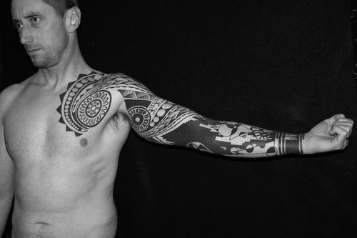 3f7f8e8b8 Blackwork Tattoo History: The History of Blackwork Tattoos
