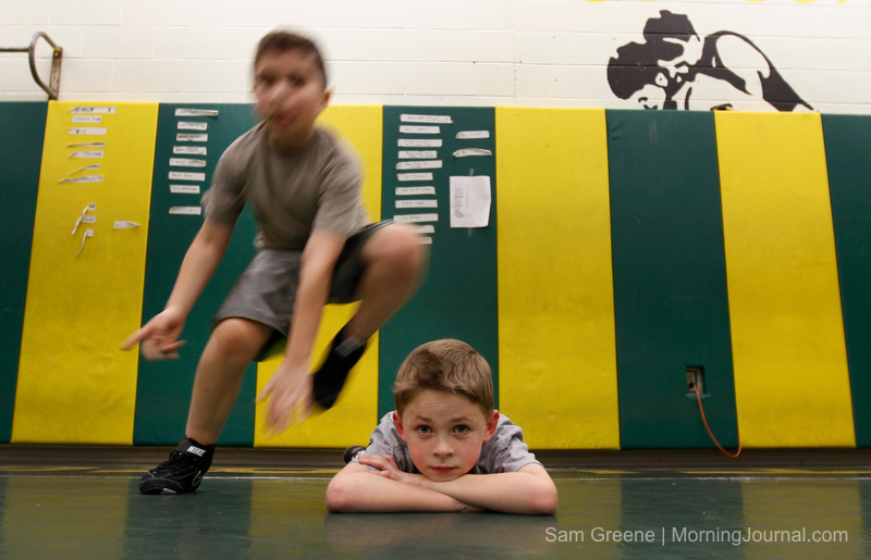 Amherst youth wrestling | MORNING JOURNAL/SAM GREENE Elijah … | Flickr