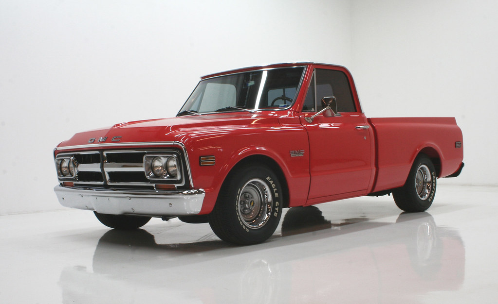 1967 GMC Truck | This '67 GMC truck underwent a stunning tra