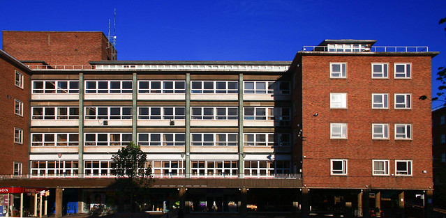 Broadgate House Coventry (City Architect Donald Gibson 1949-53)