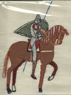 (Plastic-wrapped) From the Bayeaux Tapestry