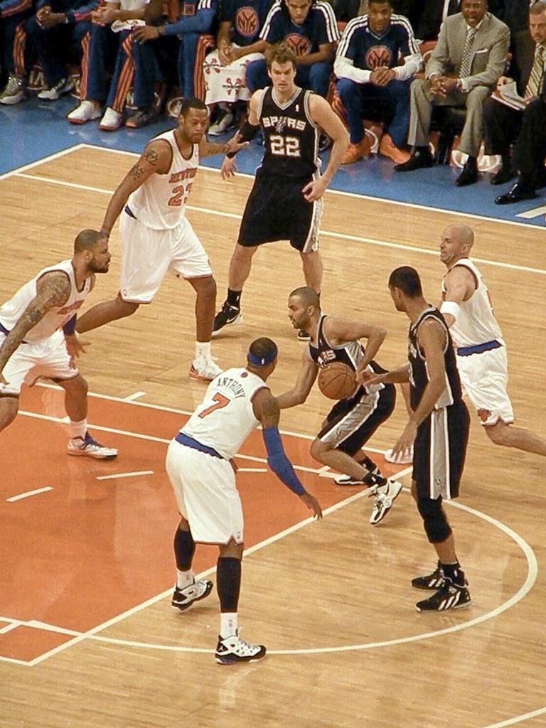 New York Knicks vs. San Antonio Spurs 1.3.13