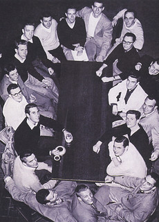 Fraternity photo from the 1954 Metate