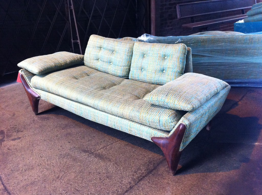 Stupendous Elusive Mid Century Modern Adrian Pearsall Sofa Loveseat Onthecornerstone Fun Painted Chair Ideas Images Onthecornerstoneorg