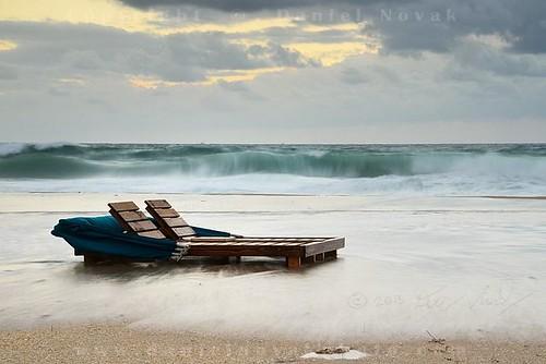 ocean sky storm beach water clouds sunrise dawn wind florida shoreline wave atlantic shore fl swept palmbeach surge cloudysky daybreak hightide sandybeach palmbeachshores beachchair roughseas overrun cloudysunrise