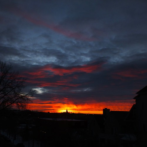 sunset canada calgary clouds sunrise alberta cloudscapes nwn bridgeland