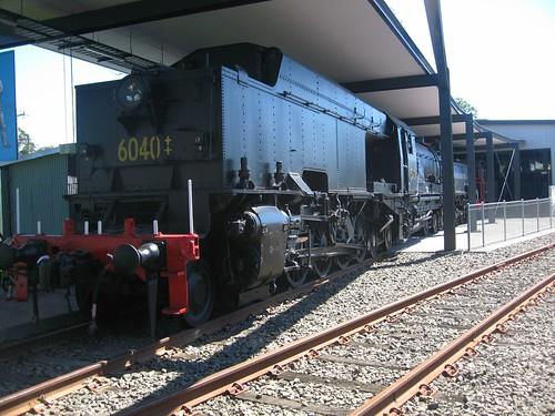 steamlocomotive class60 6040 beyerpeacock nswrtm beyergarrett nswrailtransportmuseum preservedsteamengine