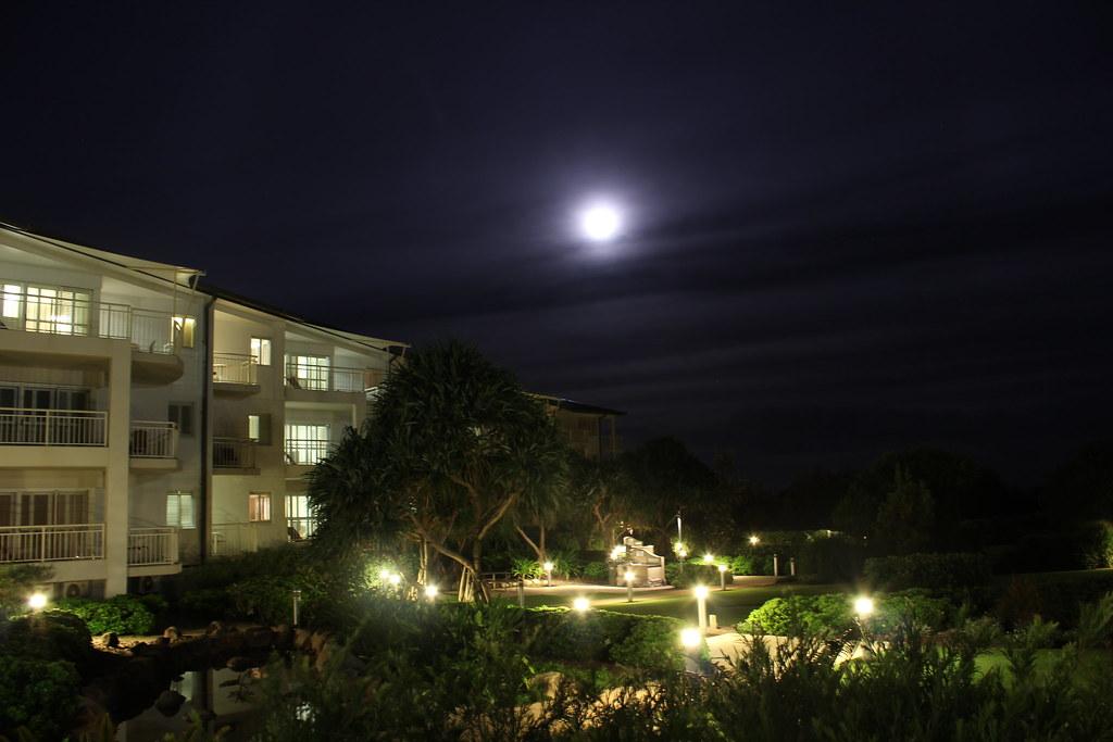 Mantra Kingscliff at Night