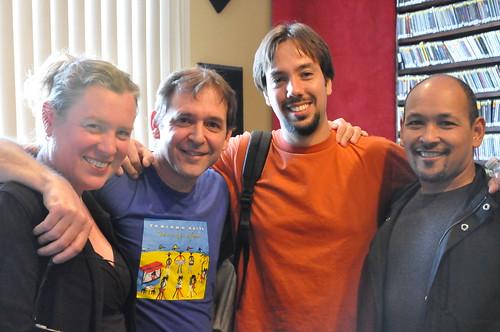 Suzanne Corley, Dean Ellis, Eduardo Tozzato, and Evan Christopher, photo by Kichea S Burt, ksburt.zenfolio.com