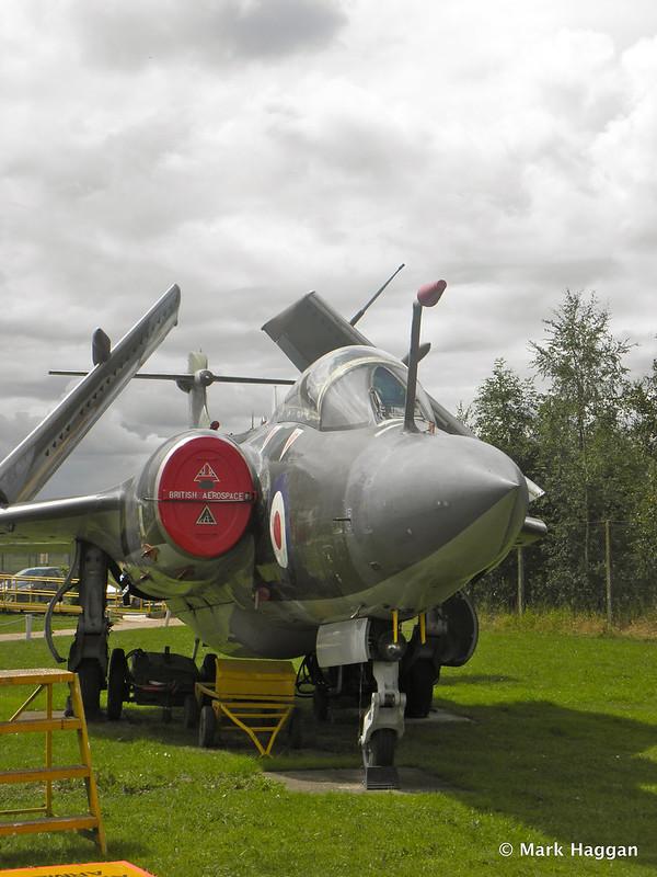 Blackburn Buccaneer S2B - XV350 at Donington AeroPark