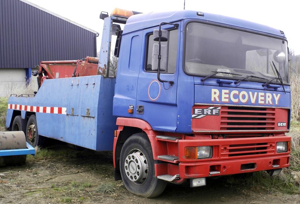 ex Chilton Transport ERF EC12 | Dave Stretton | Flickr