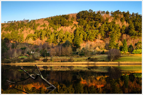 ireland irish lake mountains sunrise reflections dawn nikon glendalough wicklow d7000