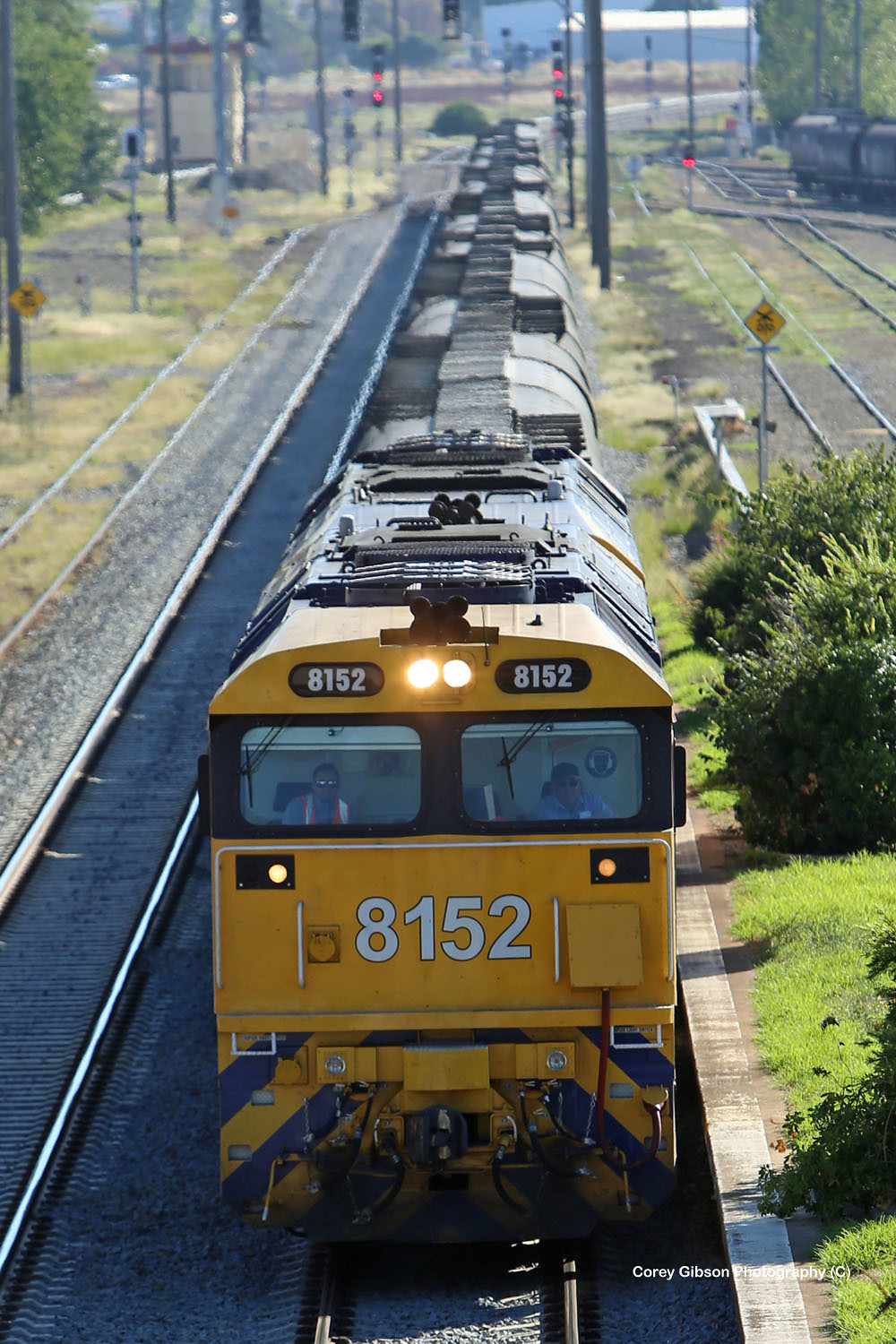 8152 & 8183 roll through Cootamundra by Corey Gibson