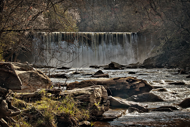 Roswell Mill Dam - Explore 3-29-2013