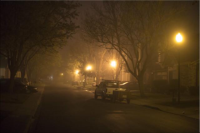 6:15 a.m. Fog