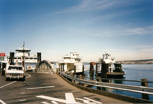 Pierce County ferries @ Steilacoom ferry terminal