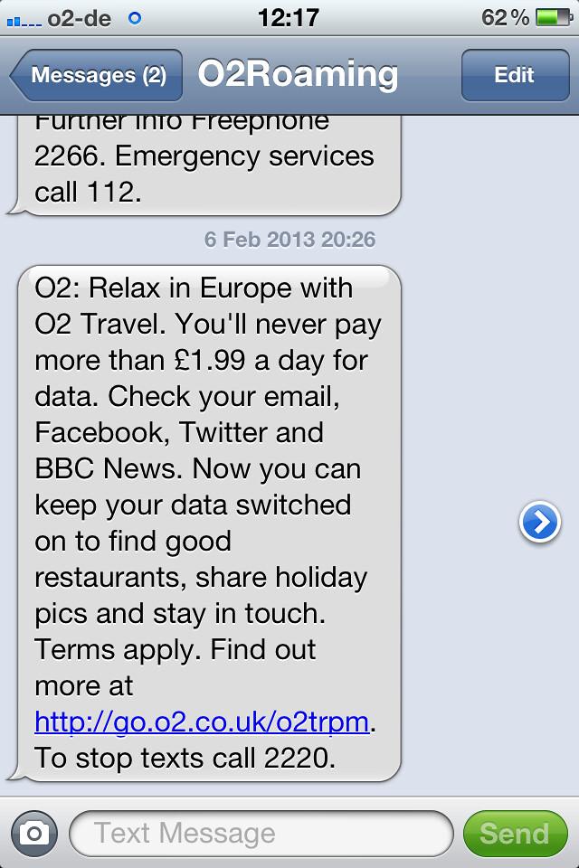 O2 Message