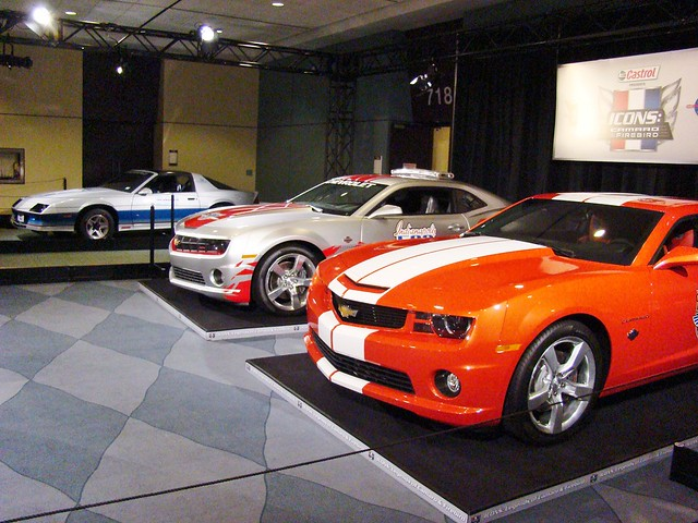 2011 Canadian International Auto Show camaro pace cars