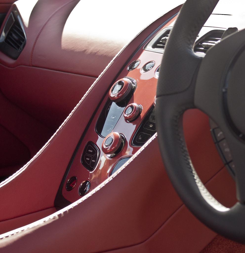 2012 Aston Martin Vantage Interior: © Copyright - TP Photography